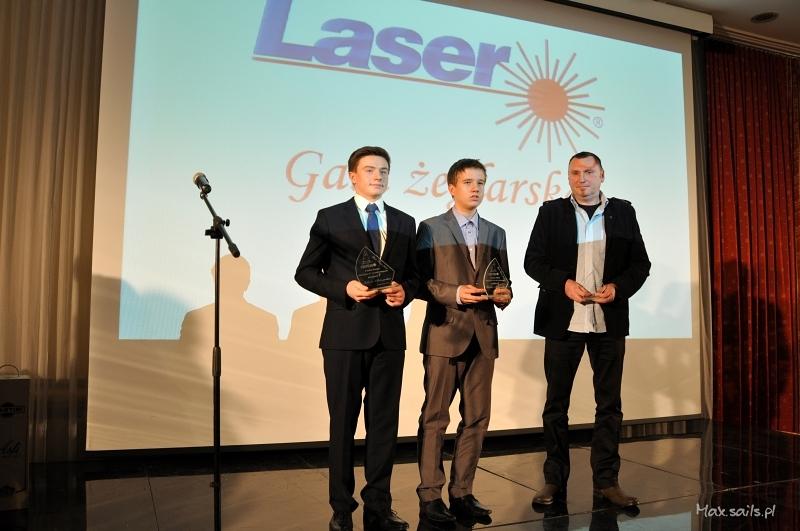 Nagrodzeni w klasie Laser 4.7 U17