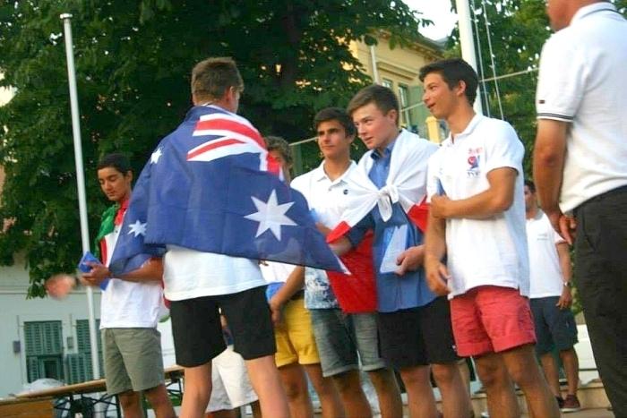 Ceremonia wręczania nagród na Mistrzostwach Świata i Europy w klasie Laser 4.7