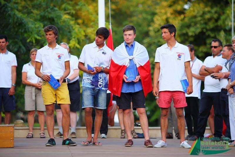 Ceremonia zakończenia Mistrzostw - 6 miejsce w Mistrzostwach Europy