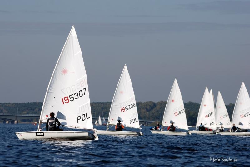 Trzeci weekend - trzeci start - Mistrzostwa Warszawy 2013, Laser Radial