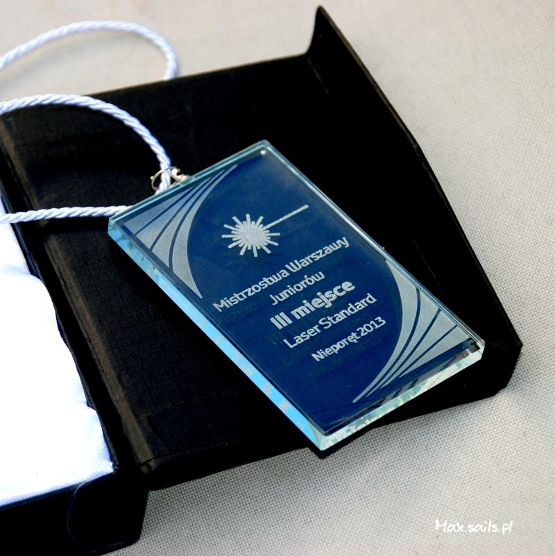 Oryginalny medal MWJ 2013 ze szkła