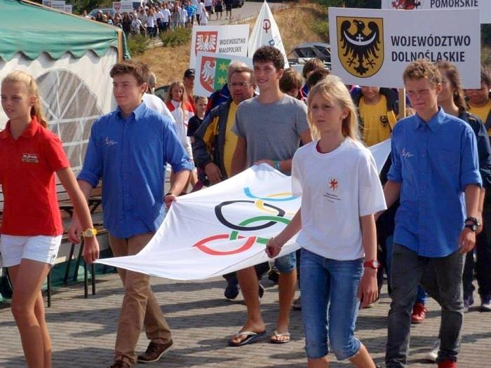 Ceremonia otwarcia OOM 2013 w żeglarstwie