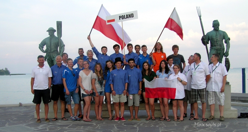 Reprezentacja Polski na Mistrzostwa Świata i Europy w klasie Laser 4,7 2013
