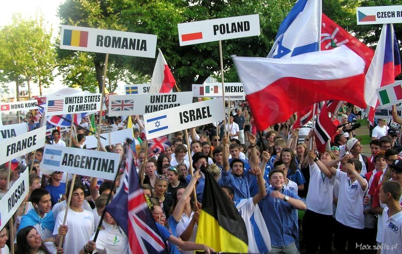 Fiesta 47 krajów podczas otwarcia Mistrzostw
